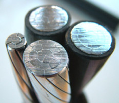 fil d'aluminium